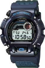 Casio G-Shock Thermometer Watch DW-9400B-2V, module QW-1680